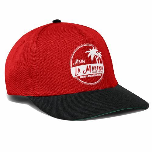 Mein La Marina und San Fulgencio / weiss - Snapback Cap