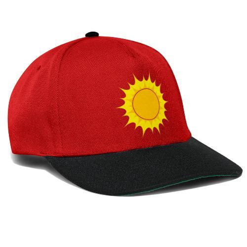 Sun / Sonne - Snapback Cap
