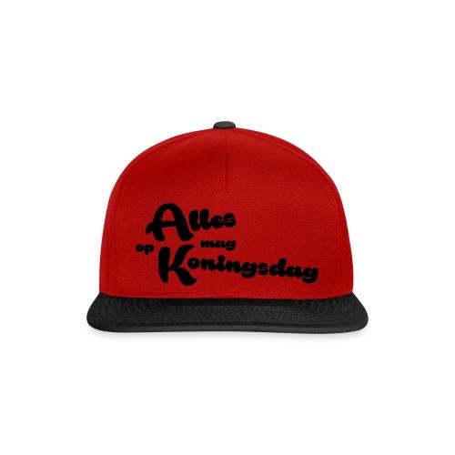 Alles mag op Koningsdag - Snapback cap