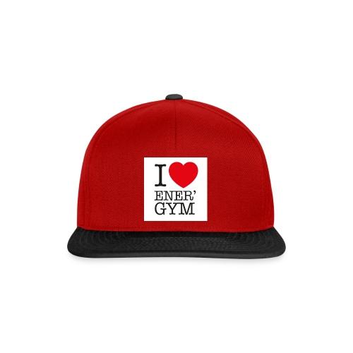 I love Ener'gym - Casquette snapback
