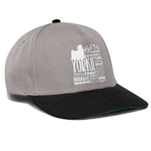 Yorkshire Terrier Words W - Snapback Cap
