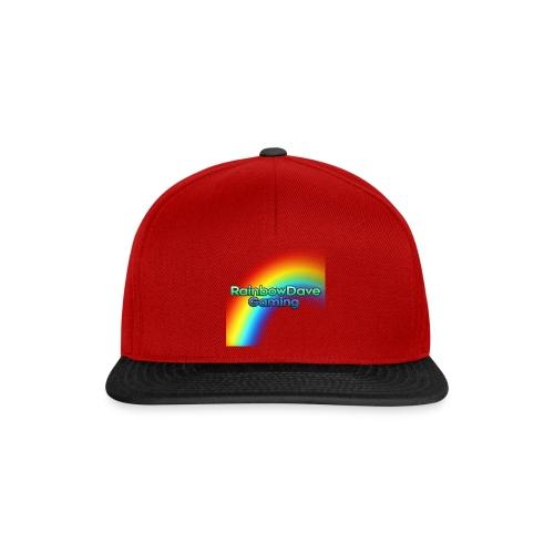 RainbowDave Gaming Logo - Snapback Cap