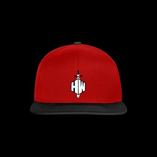 Black and White Logo - Snapback Cap