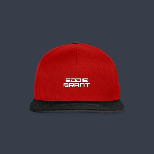 Eddie Grant White Logo - Snapback cap