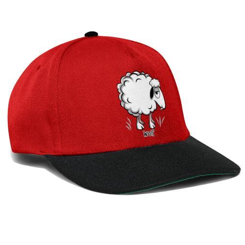 10-47 WOLF SHEEP- SUSI LAMMAS TUOTTEET - Snapback Cap