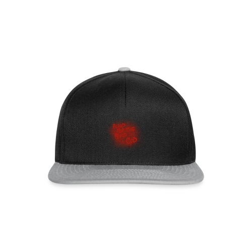 Blood For The Blood God - Snapback Cap