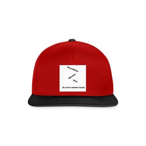 Default SmartWhite Member Merch - Snapback Cap