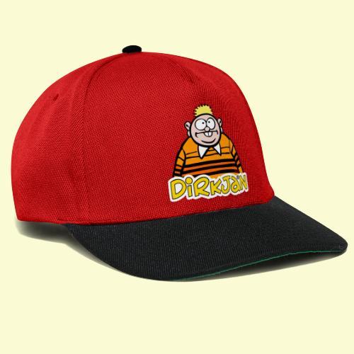 DirkjanHalfLogo - Snapback cap