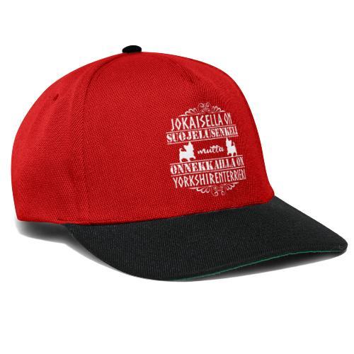 Yorkshirenterrieri Enkeli 8 - Snapback Cap