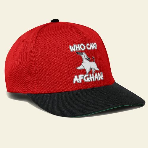 Who Can Afghan III - Snapback Cap