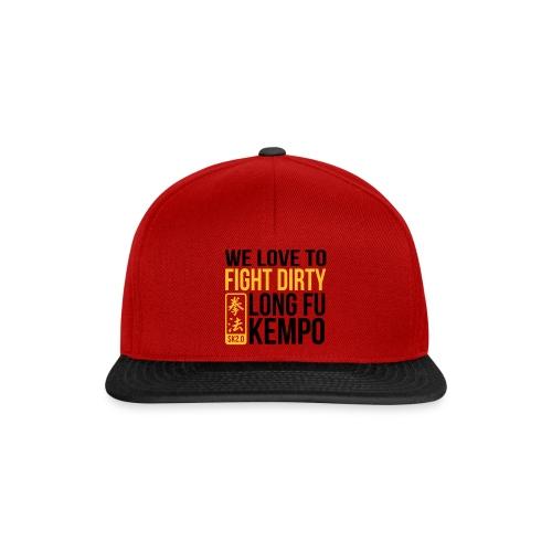 fight dirty - Snapback cap