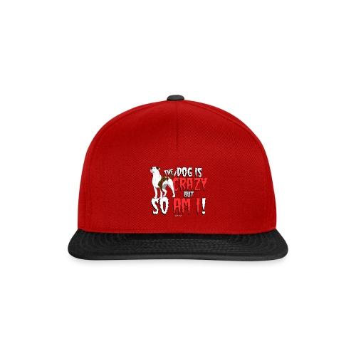 American Bulldog Crazy - Snapback Cap