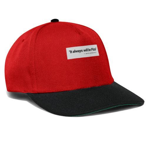 MERCH - PIZZALOVE - Snapback Cap