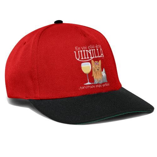 Yksin Viinillä Yorkki - Snapback Cap