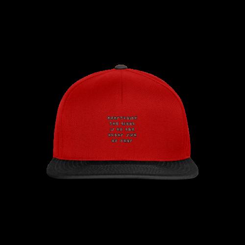 Fear - Snapback Cap