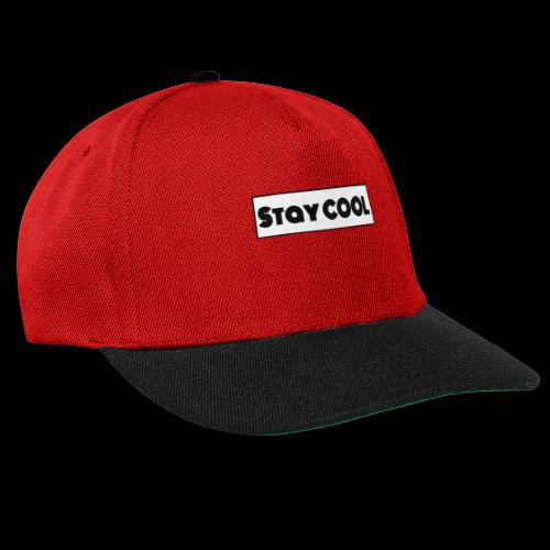 Stay COOL - Snapback cap