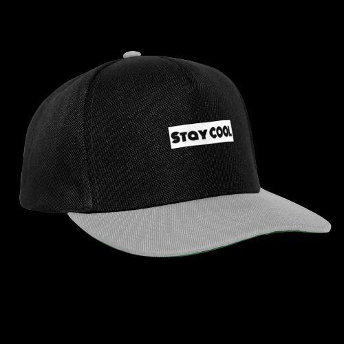 Stay COOL - Snapback cap