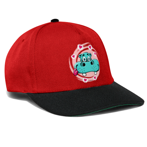 GP10-5A LOVE HIPPO Textile and Gift Products - Snapback Cap