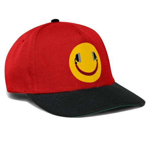 Smiling headphone - Snapback Cap