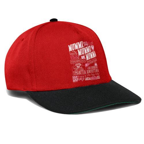 Mummo Piirakanpaistaja - Snapback Cap