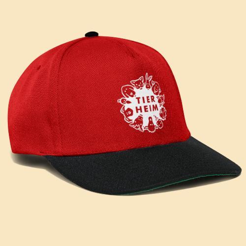 Tierheim Logo weiss - Snapback Cap