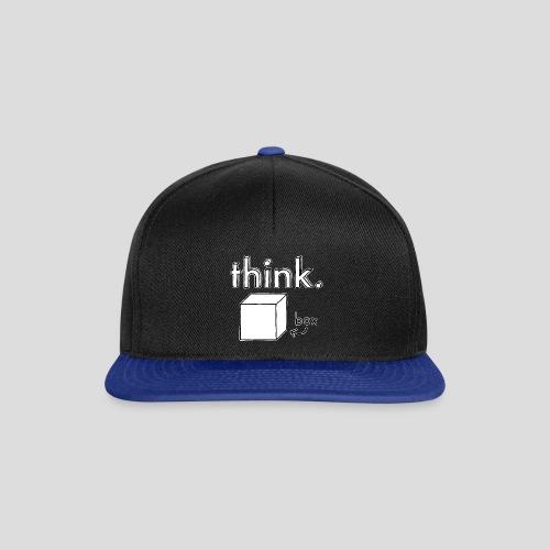 Think Outside The Box Illustration - Snapback Cap