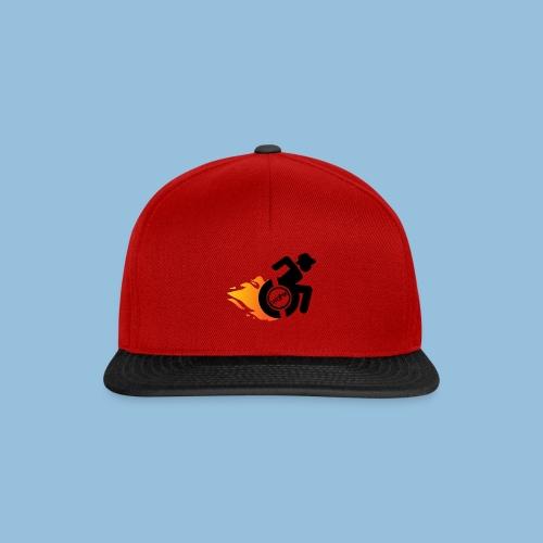 Roller met vlammen 014 - Snapback cap