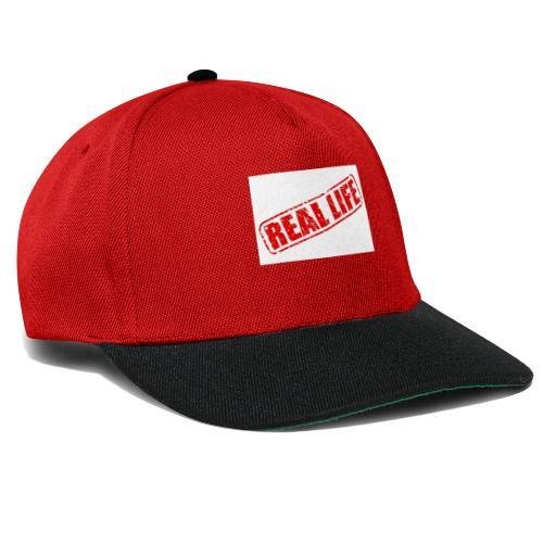 Reallife - Snapback Cap