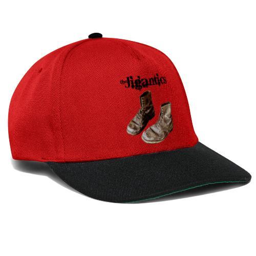 The Jigantics boot logo - black - Snapback Cap