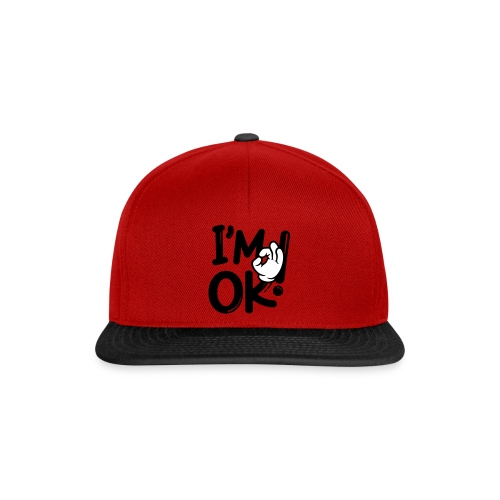 i am ok! - Snapback Cap