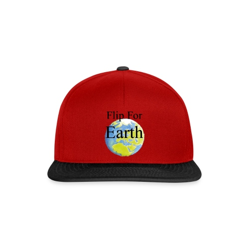Flip For Earth T-shirt - Snapbackkeps