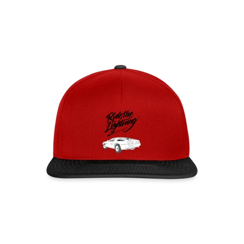 Delorean – Ride The Lightning - Snapback Cap