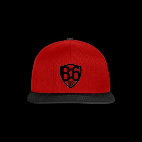 BRAVO SIX ESL Logo Black - Snapback Cap