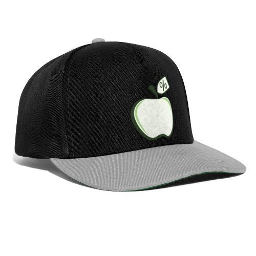Sund på budget logo til mørke produkter - Snapback Cap