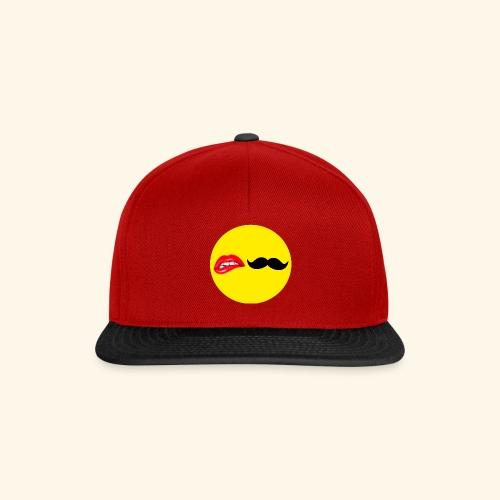 Mustache Lips - Snapback Cap