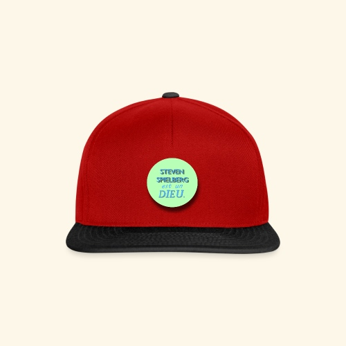 Steven Spielberg - Collection Flat Circle - Casquette snapback