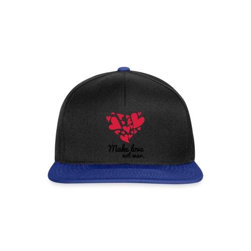 Make Love Not War T-Shirt - Snapback Cap
