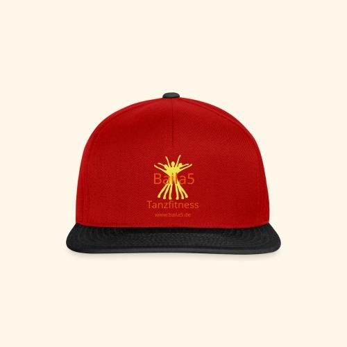 Baila5 Tanzfitness gelb - Snapback Cap