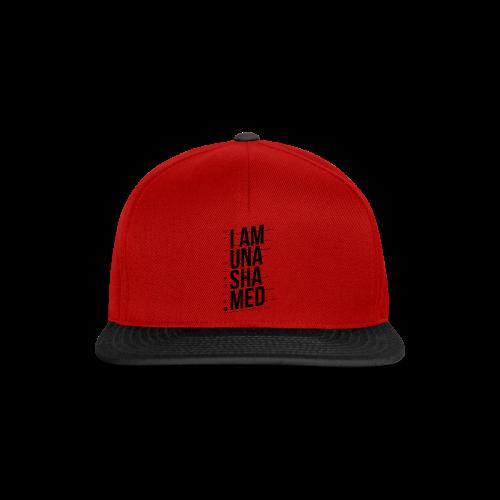 I am Unashamed Romans 1:16 Christian T Shirt - Snapback Cap