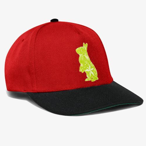 Flower Bunny Lime - Snapback Cap