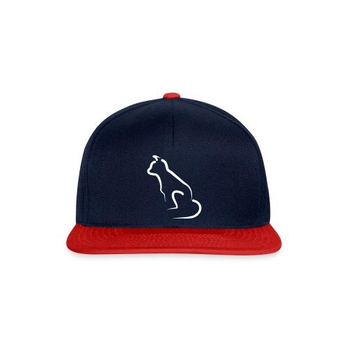 katten silhoutte - Snapback cap