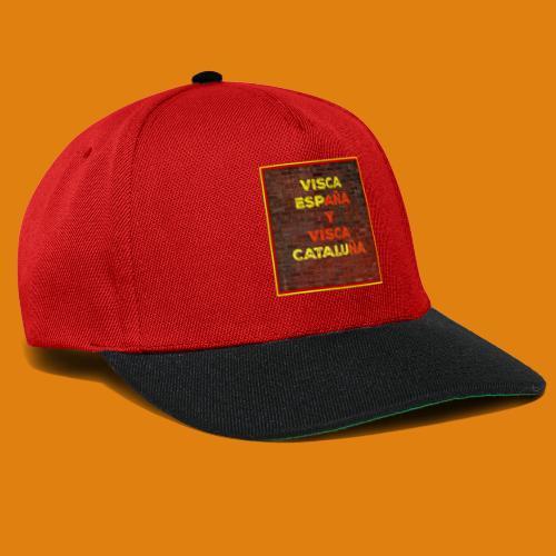 SPAIN AND CATALONIA - Snapback Cap