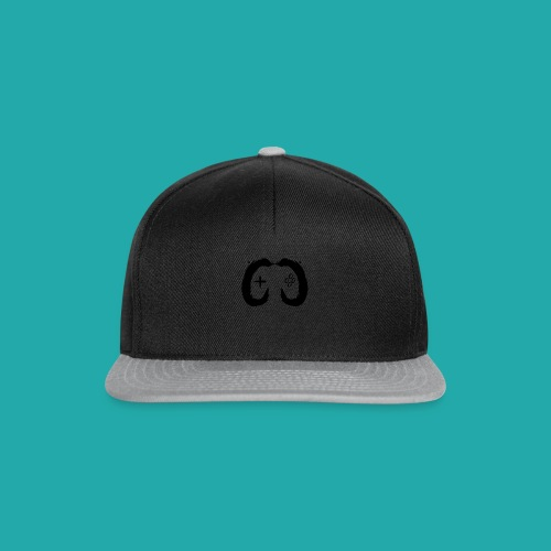 Crowd Control Controller Logo Black Large - Snapback Cap