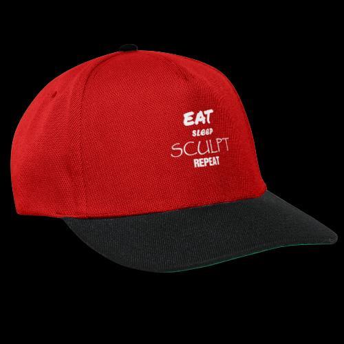 eat sleep B - Casquette snapback