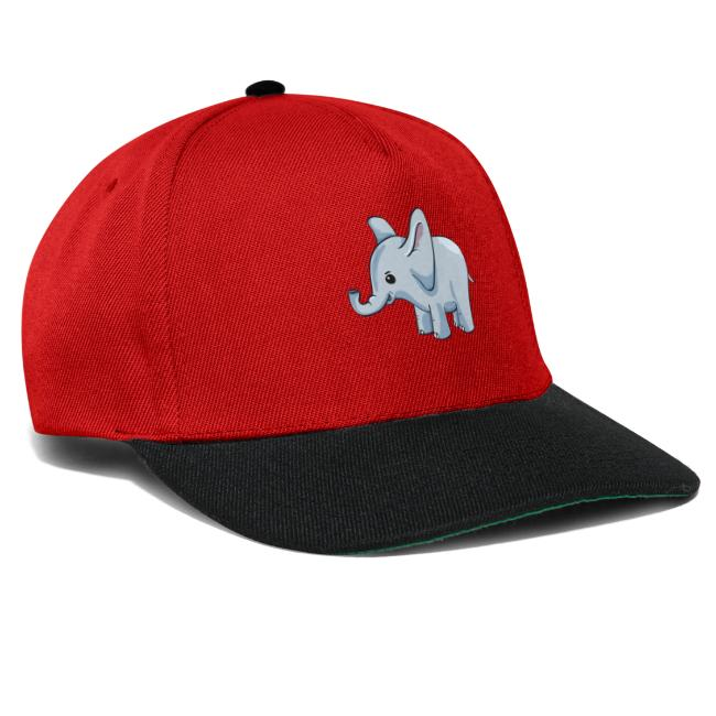 buy popular 56362 2ad0b Kindershirt bedrucken günstig Elefant | Snapback Cap