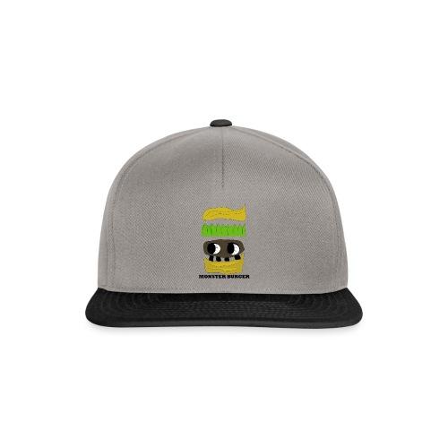 MONSTER BURGER - Snapback Cap