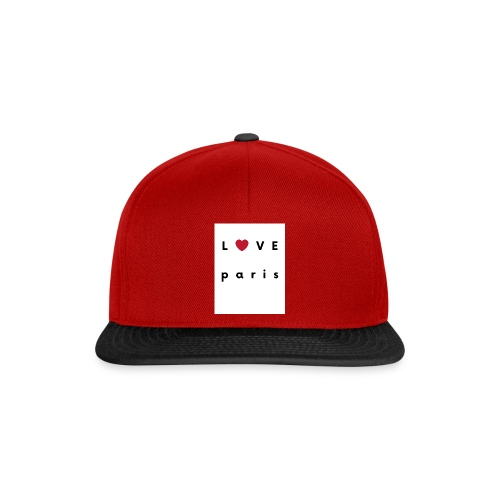 love paris france - Casquette snapback