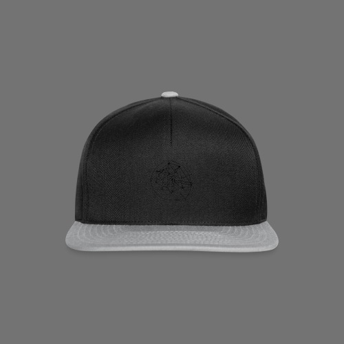 SEO strategia No.1 (musta) - Snapback Cap