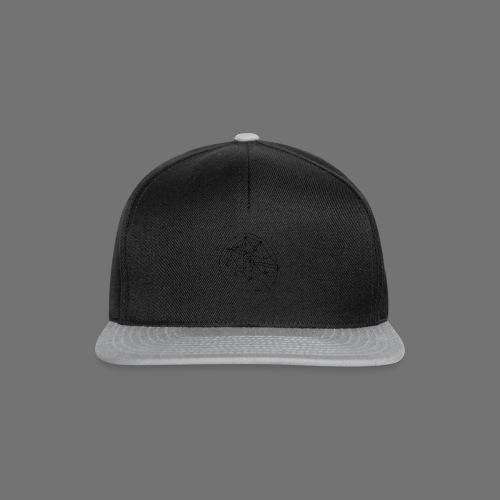 SEO strategia No.1 (musta) - Snapback Cap