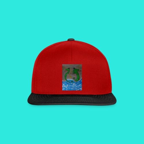 Waterdragons_in_the_thunder- - Snapback cap